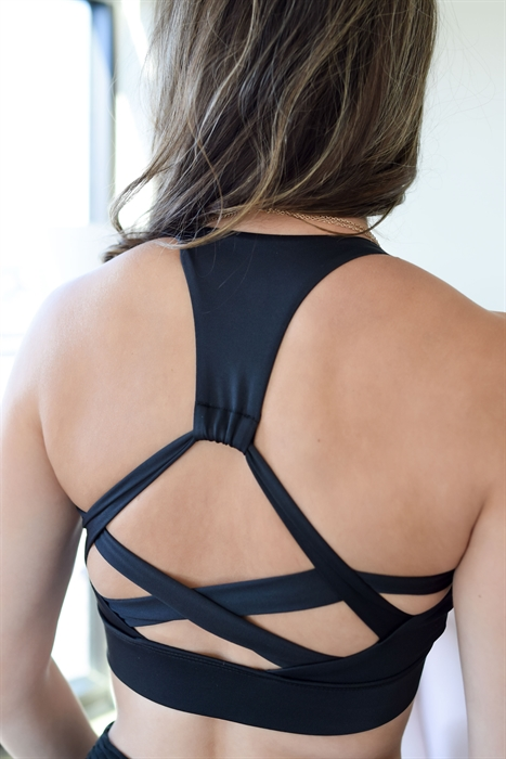 Picture of Strappy Back Athletic Bra