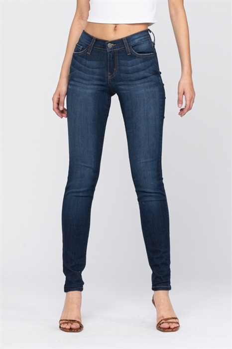 Picture of Judy Blue Rain Skinny Jeans